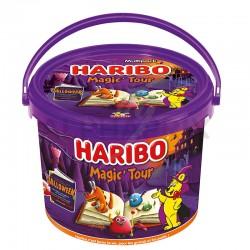 Haribo seau magic tour 760 g (20 mini sachets) en stock