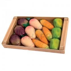 Cagette du marché légumes pâte d'amandes 155g en stock