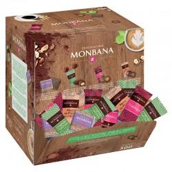 """Pause cafés """"collection pralinés"""" assortis Monbana en stock"""