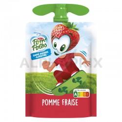Gourde pom'pote pomme fraise 90g en stock