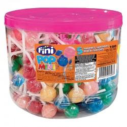 Sucettes Fini pop mini assortis tubo de 150 en stock