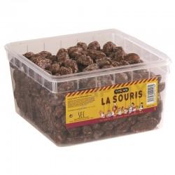 Souris caramel enrobé de chocolat kg en stock