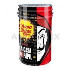 Sucettes Chupa pôt de 1000 ** casa de papel ** en stock
