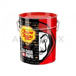 Sucettes Chupa Casa de Papel par 150 pot fer en stock