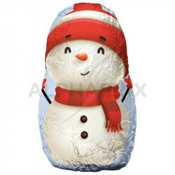 Figurines Bonhommes de neige chocolat vrac 5kg en stock