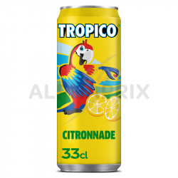 Tropico citronade boîte 33 cl en stock
