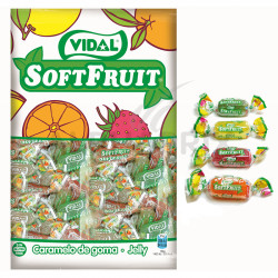 Bonbons Soft Fruits kg Vidal